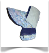 The OptiFlow® Comfort Sleeve arm for a child
